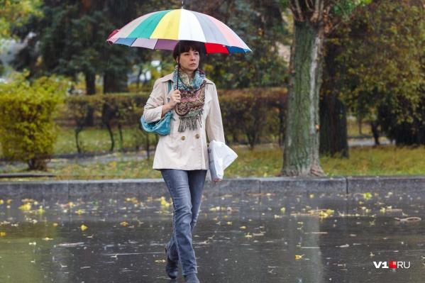 Дожди задержатся в Волгограде до завтрашнего дня