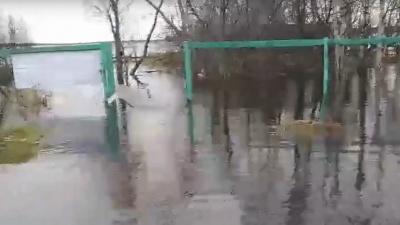 Почти Атлантида: смотрим, как подтопило архангельскую деревню Реушеньгу — видео