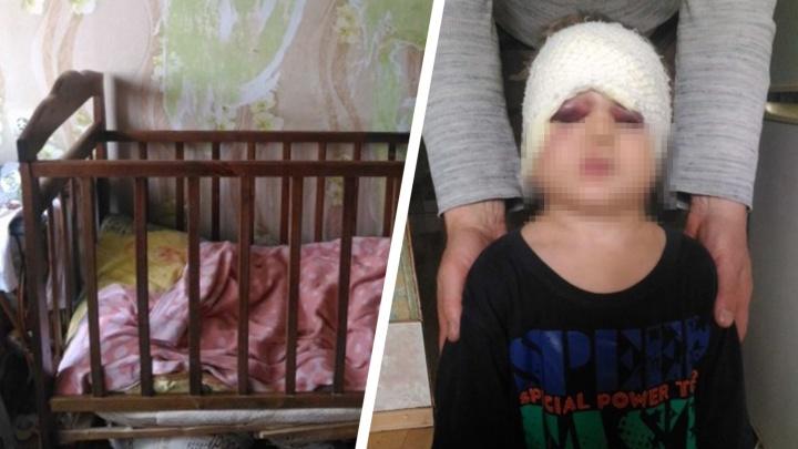 Лупил по лицу и голове: судимый за убийство волжанин избил своего трехлетнего пасынка