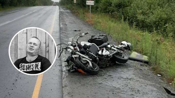 Супруга борется за жизнь, муж разбился насмерть: семья байкеров из Новосибирска попала в аварию под Иркутском