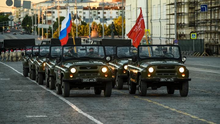 Готовьтесь к перекрытию улиц: в Екатеринбурге пройдет большая ночная репетиция парада