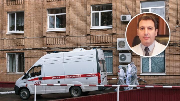 «Госпиталь загружен на 90%»: главврач больницы Середавина — о лечении больных COVID