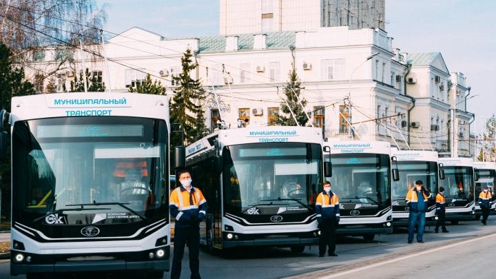 В новых троллейбусах «Адмирал» пообещали включать кондиционеры