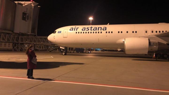 В Екатеринбург прибыл чартерный рейс с 20 аппаратами искусственной вентиляции легких