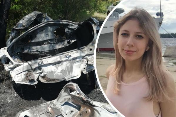 Юлия и еще три человека находились в иномарке, которая ехала в Димитровград
