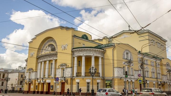 Министерство культуры выделит 100 миллионов рублей Волковскому театру