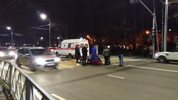 «Летают, как по трассе»: в Ярославле на отремонтированном Тутаевском шоссе сбили женщину-пешехода
