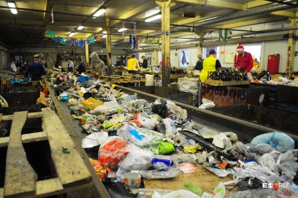 Единственный в Екатеринбурге мусоросортировочный комплекс находится на Широкой Речке, но новый завод должен уметь перерабатывать 700 тысяч тонн отходов в год