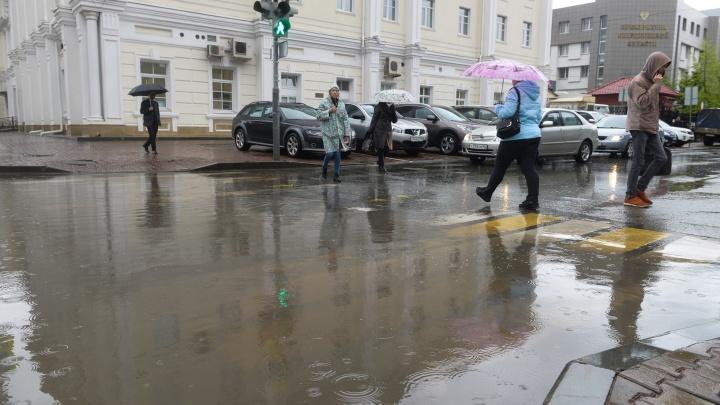 Выходные в Екатеринбурге будут дождливыми и ветреными, но теплыми