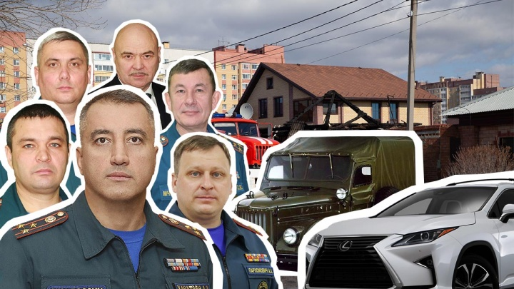 ВИП-гаражи главных спасателей Тюмени: они ездят на иномарках и обожают советские автомобили