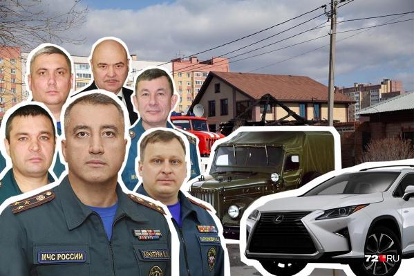 В гаражах главы и замов МЧС по Тюменской области нетультрадорогих иномарок или частных самолетов, а максимальное количество единиц личного транспорта не превышает двух