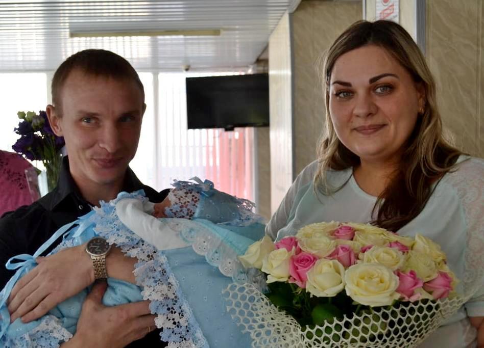 В августе Панина родила сына