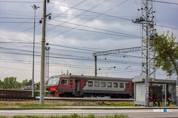Изменения коснутся электричек из Тогучина и Болотной