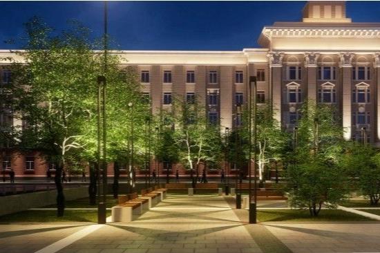 В Уфе утвердили проект благоустройства Советской площади