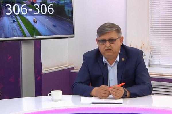 Мэр города рассказал о ситуации в эфире городского телеканала