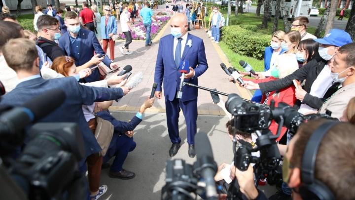 Цивилев хочет провести в Кузбассе парад шахтеров