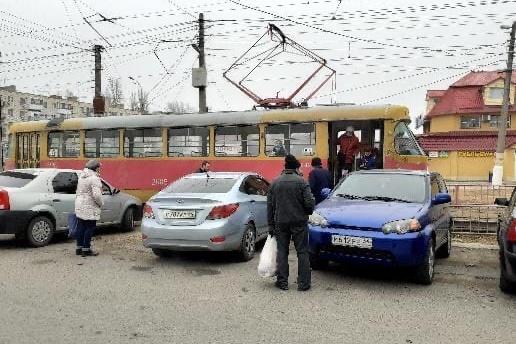 Авария произошла возле Качинского рынка