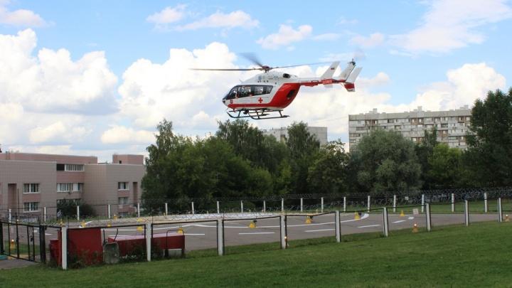 Медики Кузбасса будут использовать вертолёты для экстренной помощи