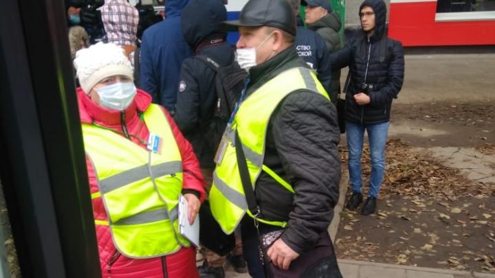 На «Телецентре» прошли рейды из-за пассажиров без масок