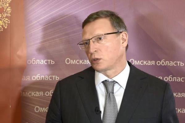 Александр Бурков попросил омичей сидеть дома на майские праздники