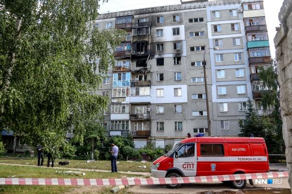 Взрыв произошёл на 6-м этаже