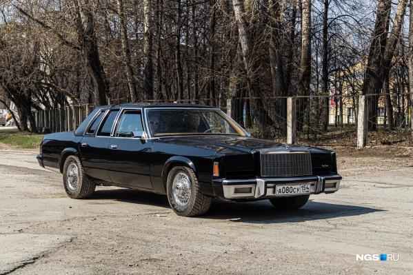 Chrysler New Yorker 1980 года выпуска