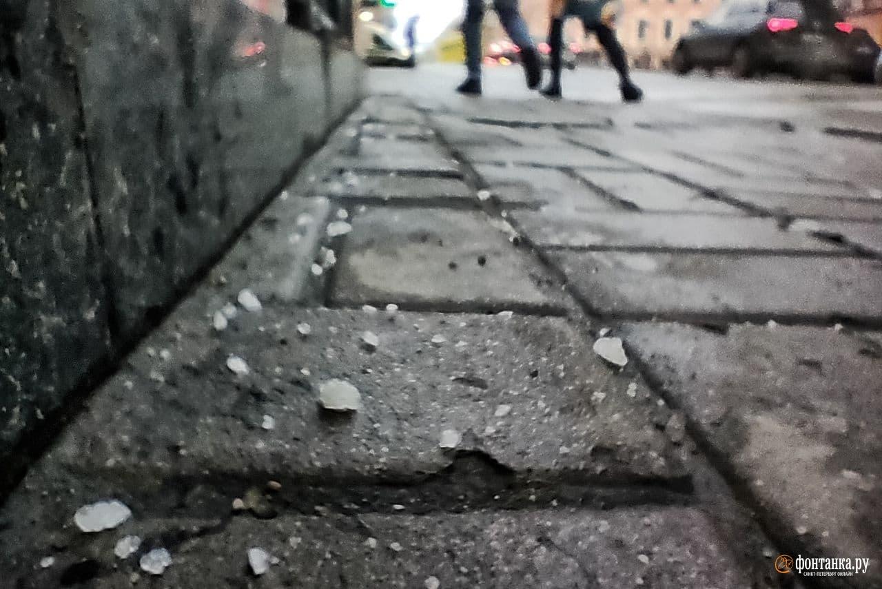 Каменный мост днем 27 ноября<br><br>автор фото Михаил Огнев / «Фонтанка.ру»<br>