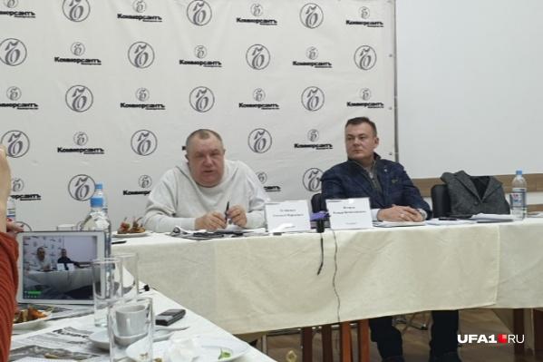 Зеликман (слева) вел дело убийства заместителя коммерческого директора УМПО