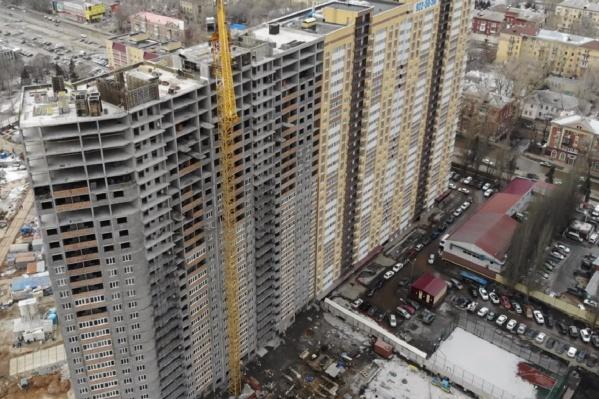 Большинство самарских новостроек высотой в 25 этажей