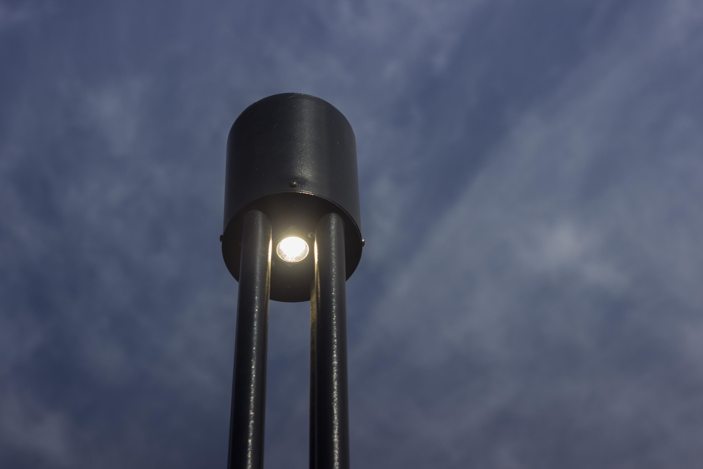 Местная жительница рассказала, что до этого на территории парка не было освещения, поэтому ходить по ночам там было страшно