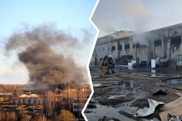 Пожар произошёл на улице Луговой в Рыбинске