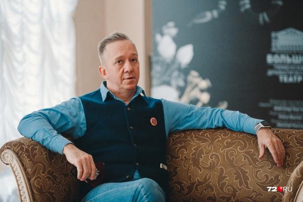 Сергей Осинцев руководит Тюменским драматическим театром с 2011 года