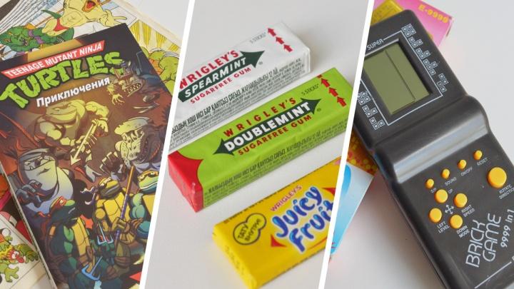 Сводит олдскулы: сладости и вещи из 90-х, которые можно купить в Архангельске и сегодня