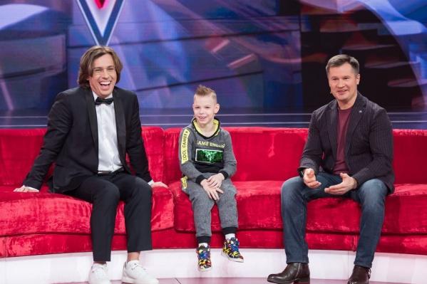 На шоу побывал гимнаст Алексей Немов — кумир Андрея