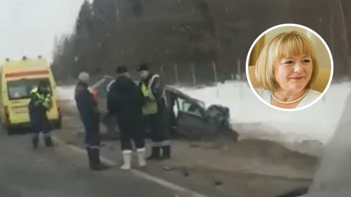 В ДТП в Ярославской области погибла депутат