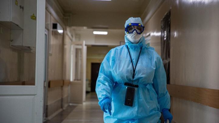 За сутки в Новосибирской области скончались трое пациентов с ковидом