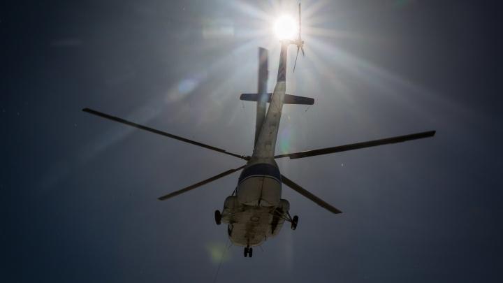 Спасатели рассказали, что на самом деле обнаружили в месте предполагаемого крушения вертолёта