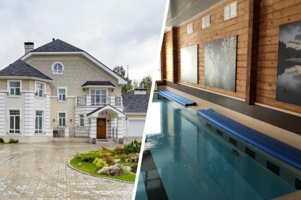 Дома продаются вместе с бассейном