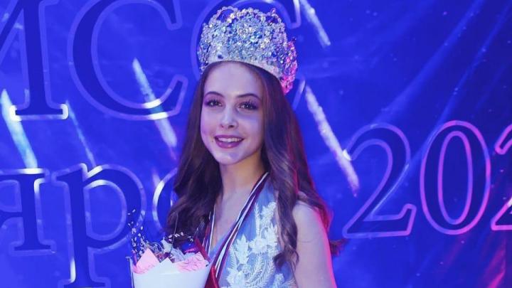 В Красноярске выбрали самых красивых девочек. Теперь они поедут в Москву