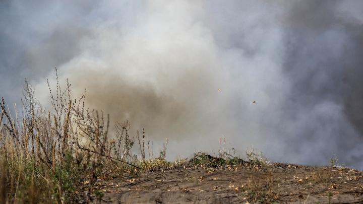 Выксу накрыл дым от рязанских пожаров. Пожилых людей просят не выходить из дома