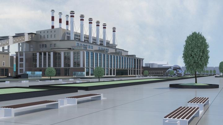 Архитекторы показали, как может выглядеть набережная от ГРЭС до бассейна СКА