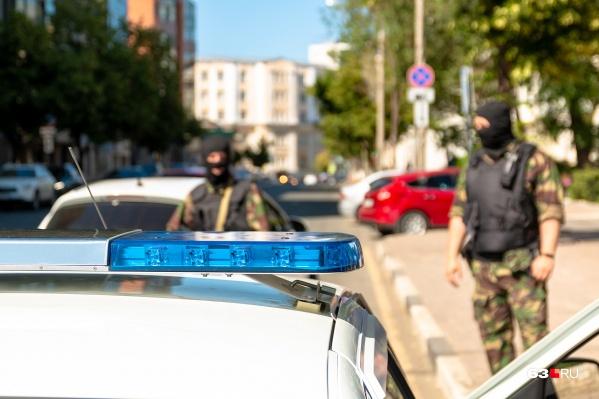 Подозреваемого задержали с поличным