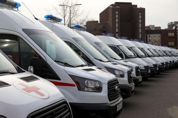 В Красноярский край пришли 28 новых автомобилей скорой помощи