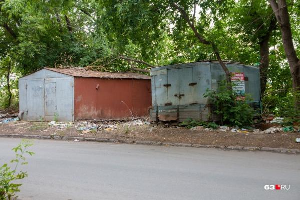 Таких гаражей в Самаре становится всё меньше