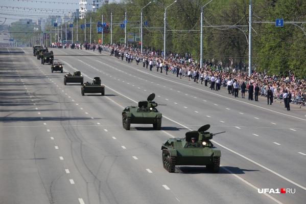 В этом году Хабиров попросил избежать массового скопления людей
