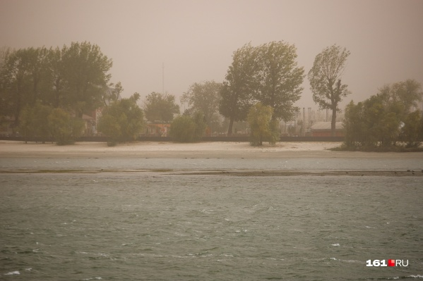 В прошлом году пыльные бури пришли осенью