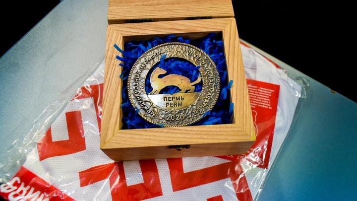 Участники Пермского марафона получат временные медали