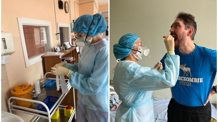 Что происходит в 40-й больнице, где лежат пациенты с коронавирусом: фоторепортаж