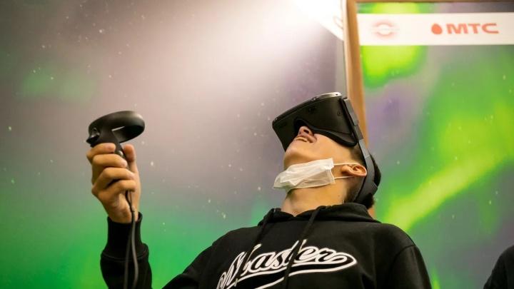 МТС покажет красноярцам северное сияние над плато Путорана при помощи VR-технологий