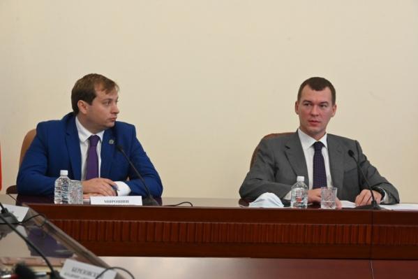 Роман Мирошин (слева) и Михаил Дегтярев знакомы давно